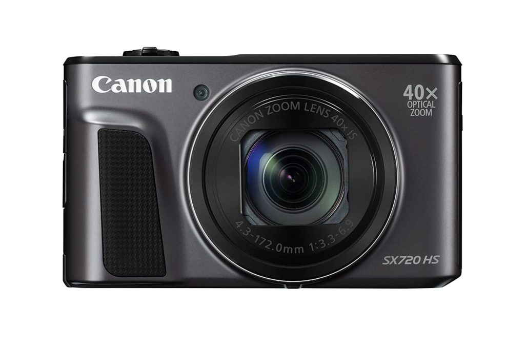 Canon PowerShot SX720 HS is the best professional video camera for sports
