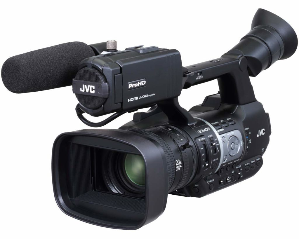 JVC GY-HM620 is the best video cameras for filming sports