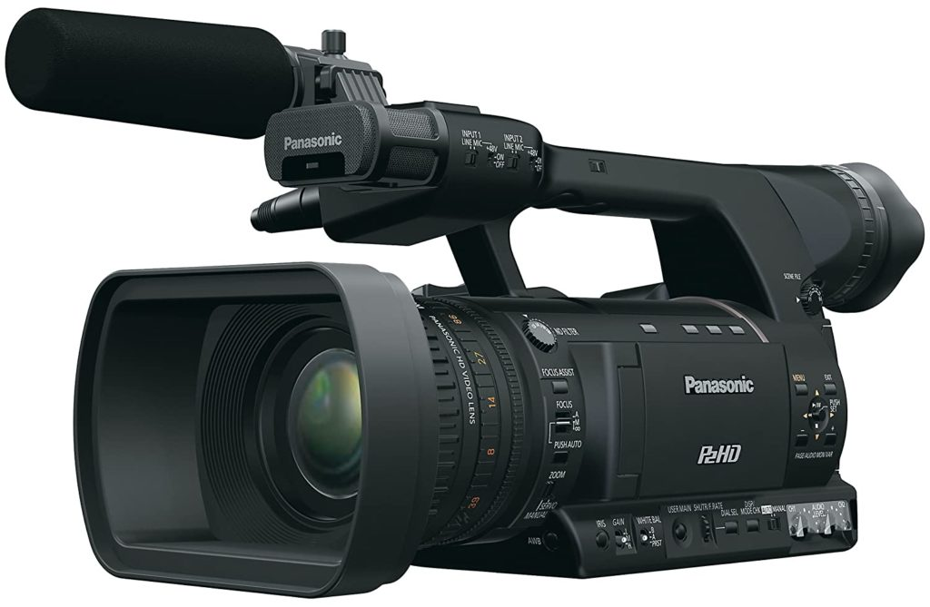 Panasonic AG HPX250 is the best professional video camera for sports