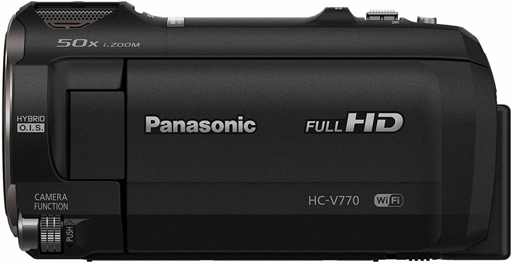 Panasonic HC-V770 low light video camera