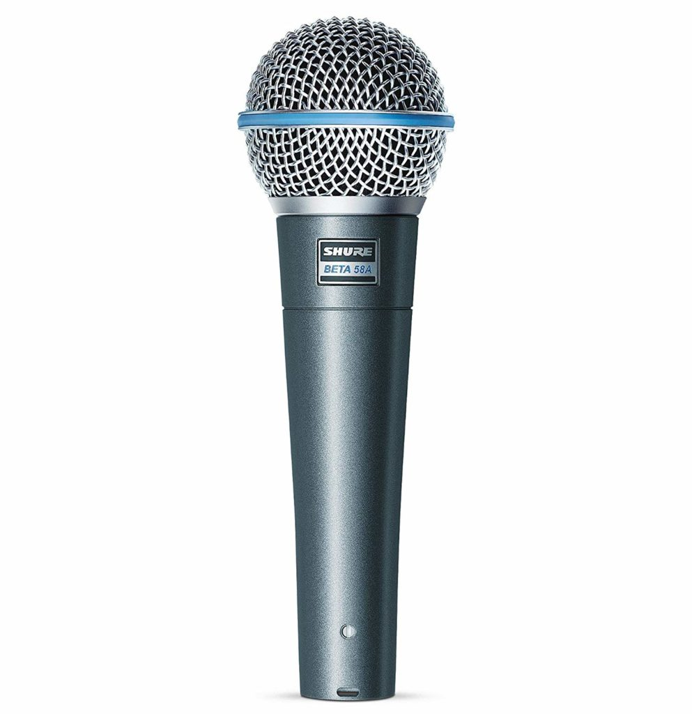 best mic for acoustic guitar live performance