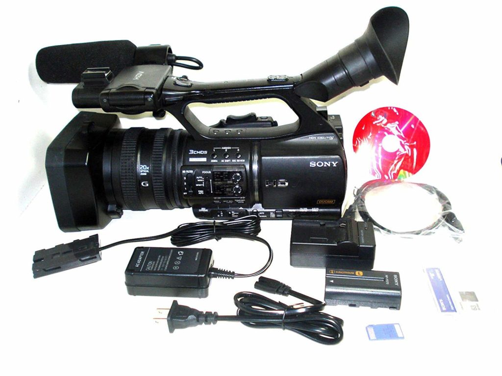best professional video camera for sports