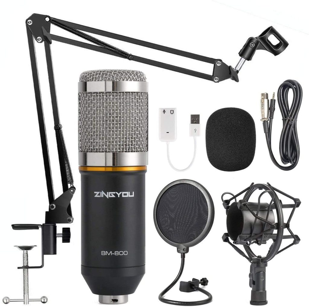 best portable podcast microphone