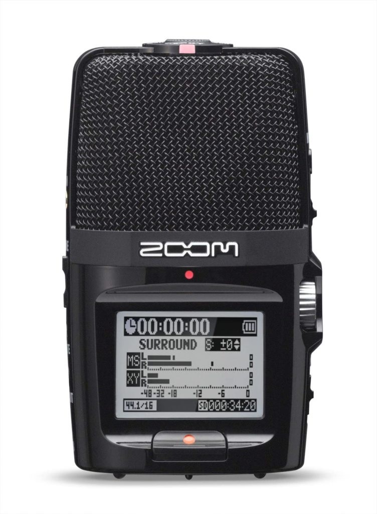 Zoom H2n Stereo/Surround Sound Portable Record