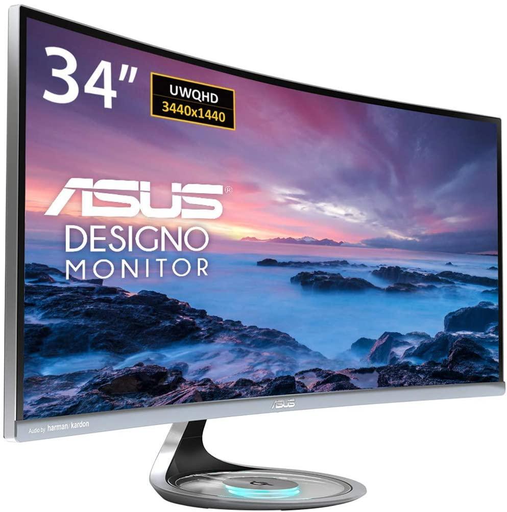 ASUS MX34VQ Designo Curved Monitor