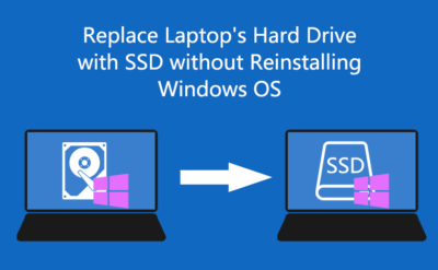How To Replace a Laptop Hard Drive With SSD