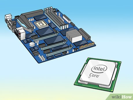 how to upgrade laptop processor